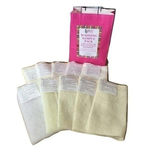 Wadding Sample Pack