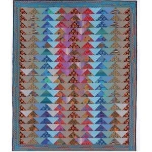 Flying Geese, Quilts in Morocco