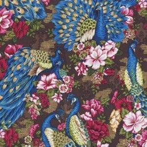 TX8336-1 Peacock Fabric Freedom