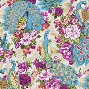 TX8336-2 Peacock Fabric Freedom