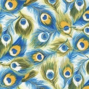 TX8341-02 Peacock Fabric Freedom