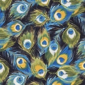 TX8341-1 Peacock Fabric Freedom