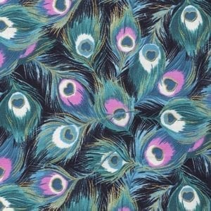 TX8341-3 Peacock Fabric Freedom