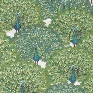 TX8457-2 Fabric Freedom Peacocks