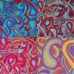 BM22 Dancing Paisley, Brandon Mably, Kaffe Fassett Collective