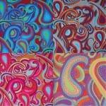 BM22 Dancing Paisley, Brandon Mably, Kaffe Fassett Collective
