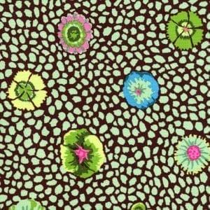 GP59.Green Guinea Flower, Kaffe Fassett Classics