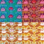 GP140 Lotus Stripe, Kaffe Fassett
