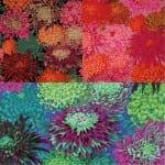 PJ41 Japanese Chrysanthemum, Philip Jacobs, Kaffe Fassett Classics