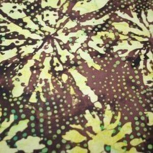 Batik: IMF13T-J1 Green/Brown