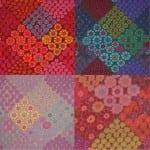 GP125 Tile Flowers, Kaffe Fassett