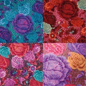 GP38 Cabbage & Rose, Kaffe Fassett