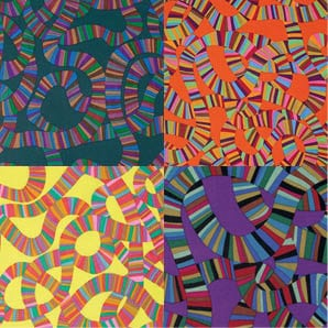 BM49 Roller Coaster, Brandon Mably, Kaffe Fassett Collective