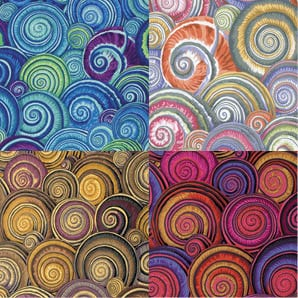PJ73 Spiral Shells, Philip Jacobs, Kaffe Fassett Collective