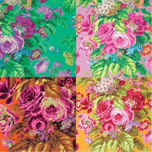 PJ75 Floral Delight, Philip Jacobs, Kaffe Fassett Collective