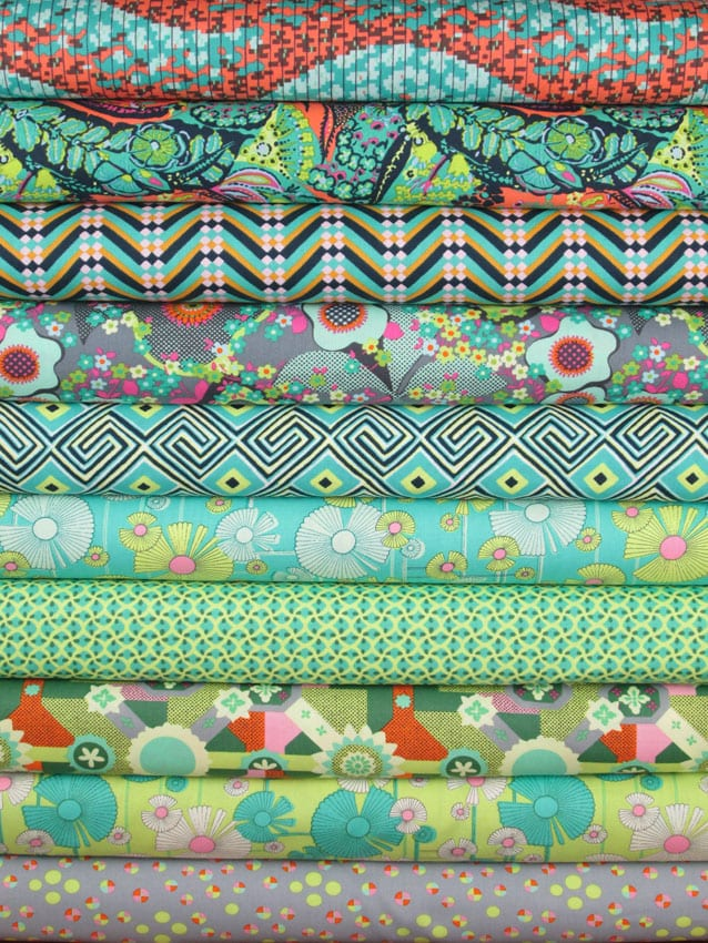 Lady Sew And Sew Awesome Amy Butler Pouf Ottoman