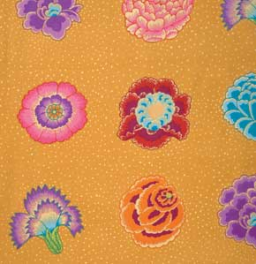Kaffe Fassett Collective Corsage : GP149 Gold