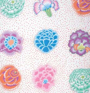 Kaffe Fassett Collective Corsage : GP149 White