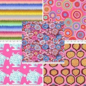 Pinks Kaffe Fassett Fat Quarter Pack