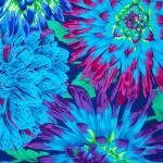 PWPJ054 Blue Cactus Dahlia, Kaffe Fassett