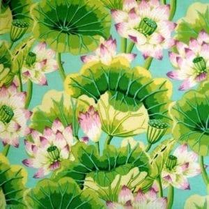 GP093.Green Lake Blossoms, Kaffe Fassett