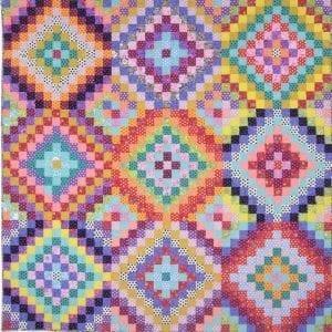 Bright Squares, Heritage Quilts