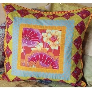 Mexican Party, Brilliant Little Patchwork Cushions
