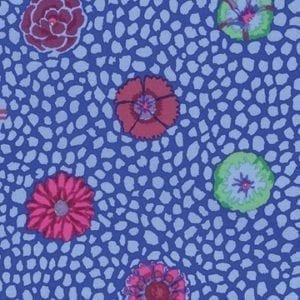 PWGP059.COBALT Guinea Flower, Kaffe Fassett Classics