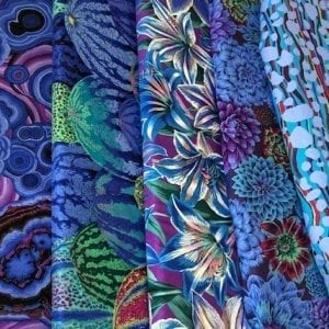 Blue Kaffe Fassett Fat Quarter Pack