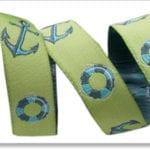 Anchor 16mm Green, Tula Pink Ribbon