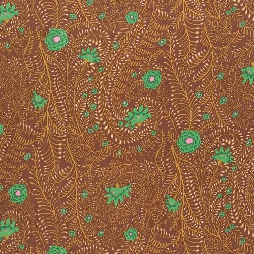 PWGP147.BROWN, Kaffe Fassett