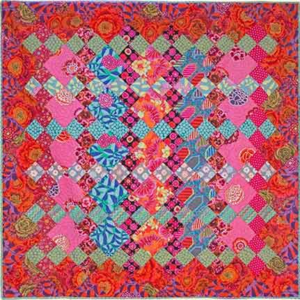 Floral Plaid, Quilts in Ireland