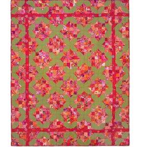 Garden Lattice, Quilts in Ireland