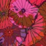 PWGP029.Wine Lotus Leaf Kaffe Fassett