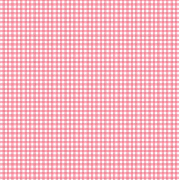 920/P3 Gingham Pink - Fruity Friends