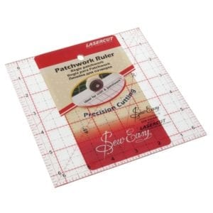 Quilting Rule: Square: 6.5 x 6.5 inch - NL4177