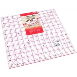 Quilting Rule: Square: 12.5 x12.5 inch - NL4178