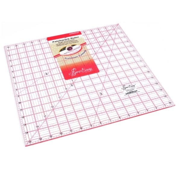 Quilting Rule: Square: 15.5 x15.5 inch - NL4179