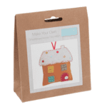 Felt Decoration Kit: Gingerbread House - GCK027