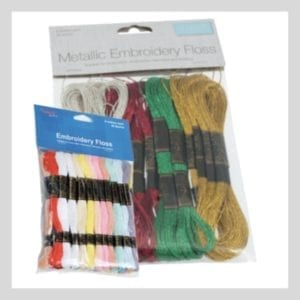 Floss Skeins 36Pk: Pastel Colours