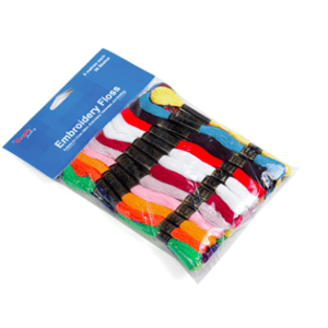 FLOSS1 -Floss Skeins 36pk: Bright Colours