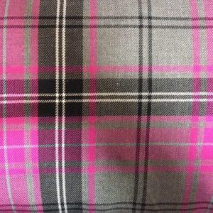 X5001TARTAN - Pink and Grey Tartan