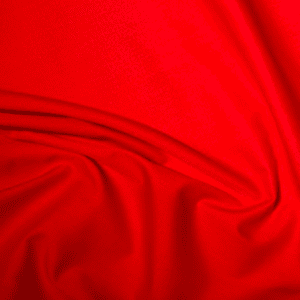 ES005RED - Red Poly Cotton