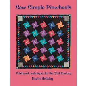 Sew Simple Pinwheels - Karin Hellaby