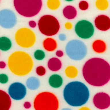 FC7139IVO Multi-Colour Dots Ivory