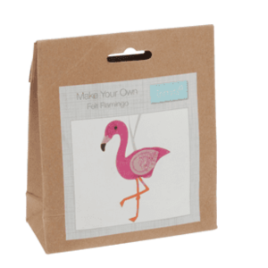 GCK035 Felt Kit - Make Your Own Flamingo