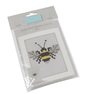 GCS20 Counted Cross Stitch Card Kit - Bee