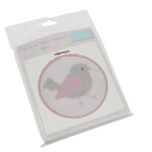 GCS25 Cross Stitch Kit with Hoop - Bird