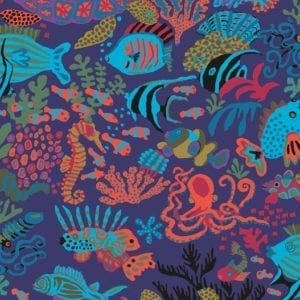 PWBM064. Blue Scuba Brandon Mably