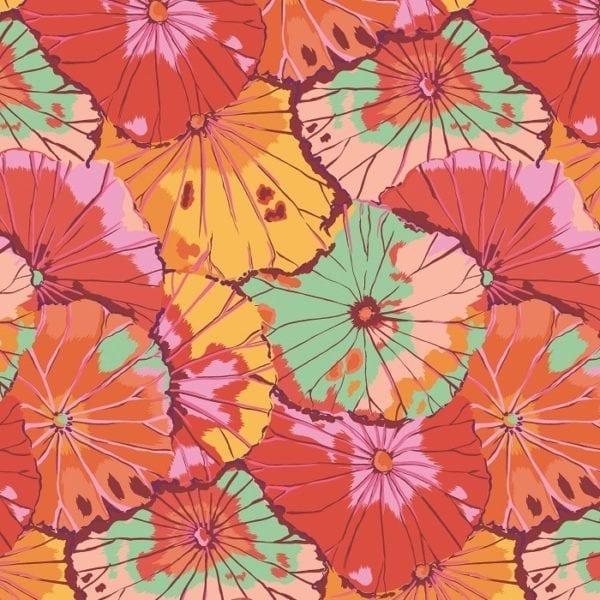 PWGP029. Citrus Lotus Leaf Kaffe Fassett